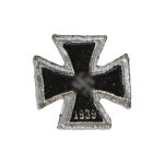 Iron Cross First Class Badge (Black)