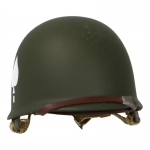 506th PIR 2nd Batalion M1 Helmet (Olive Drab)