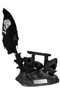 Display stand diorama Pirates Of The Caribbean : Dead Man Tell No Tales (Bleu)