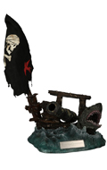 Pirates Of The Caribbean : Dead Man Tell No Tales Diorama Display Stand (Blue)