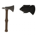 Handle RMJ Tomahawk with Kydex Sheath (Brown)