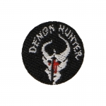 Devgru Seal Team Demon Hunter Patch (Black)