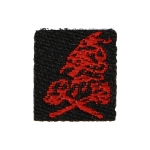 NSWDG Red Squadron Patch (Black)