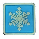 Lifesize Snowflake Patch (Blue)