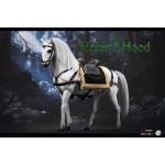 Chivalrous Robin Hood War Horse (White)