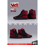 Chaussures D-Pool Sk8 Ver. 3.0 (Rouge)