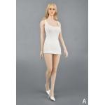 Dress and Underwear Set (White)