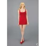 Dress and Underwear Set (Red)