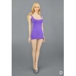 Dress and Underwear Set (Purple)