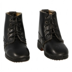 Leather M12 Ankle Boots (Black)
