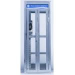 Cabine téléphonique en métal (Blanc)