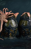 Xenomorph Egg with Facehugger and Chestburster (Olive Drab)