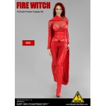 Set Fire Witch Femme (Rouge)