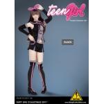 Set Teen Girl Femme (Noir)