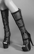 Female Heeled Boots (Black)