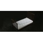Diecast Single Bed with Mattress (Bronze)