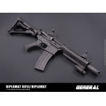 Diplomat Assault Rifle (Black)