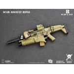 Mk16 Scar Assault Rifle (Sand)