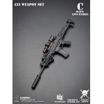 Fusil d'assaut 433 canon long (Noir)