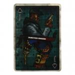 Spade J Card (Blue)