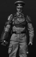 Warhammer 40000 - Astra Militarum Imperial Guard Cadian Officer