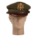 US Army Officer Service Cap (Olive Drab)