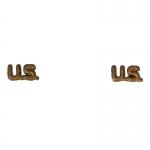 US Collar Insignias (Bronze)