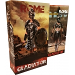 Pack Empire Legion -  Empire Gladiator & Imperial Legion - Imperial Female Warrior (Black Version)