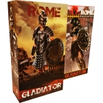 Pack Empire Legion -  Empire Gladiator & Imperial Legion - Imperial Female Warrior (Red Version)