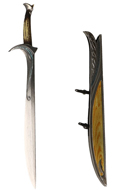 Orcirst Sword with Scabbard (Silver)
