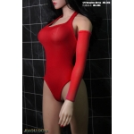 Female Pne-Piece Swimming Suit (Red)