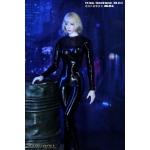 Combinaison en cuir Femme (Noir)
