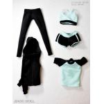 Set vêtements de Yoga Femme (Bleu)