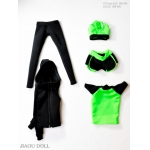 Set vêtements de Yoga Femme (Vert)