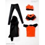 Set vêtements de Yoga Femme (Orange)