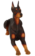 Doberman Pinscher Dog (Brown)