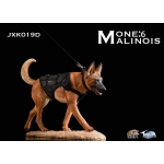 The Loyal Warrior - Chien The Fighting Spirit Malinois avec gilet tactique (Marron)