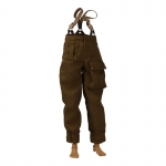 M37 P40 Pants with Braces (Brown)