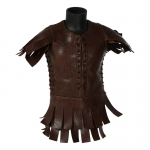 Leather Roman Centurion Subarmalis Tunic (Brown)