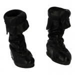 Leather Calcei Boots (Black)