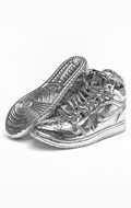 Sneakers Shoes (Silver)