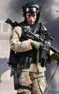 US Miliary Special Force - (ASOC) Army Special Operations Command in 1993 Mogadishu Somalia in Operation Gothic Serpent