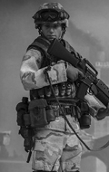 US Military 75th Rangers Regiment Grenadier - Rangers Task Force 1993 Operation Gothic Snake Somalia-Mogadishu Area
