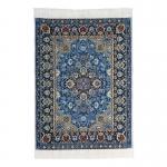 15x10cm Real Woven Carpet (Blue)