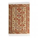 15x10cm Real Woven Carpet (Beige)