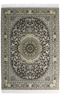 20x30cm Real Woven Carpet (Olive Drab)