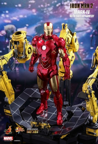 Iron Man 2 - Mark IV with Suit-Up Gantry Diecast