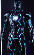 Iron Man 2 - Neon Tech Iron Man (Toy Fair Exclusive)