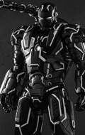 Iron Man 2 - Neon Tech War Machine