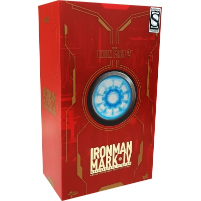 Iron Man 2 - Iron Man Mark IV Holographic Version (Toy Fair Exclusive)